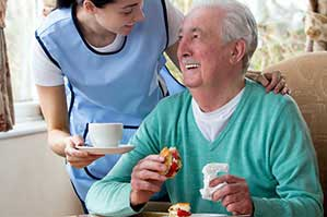 Hillcrest Home Care Help Eating