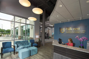 Hillcrest Service Physical Therapy Entrance