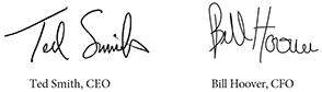 Hillcrest Popup Signatures